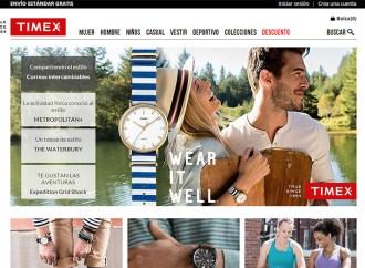Timex lanzó su tienda en línea en México