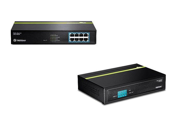 TRENDnet lanzó nuevos switches PoE a través de Ethernet