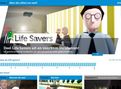 Life Savers Game mejora la seguridad en el lugar de trabajo