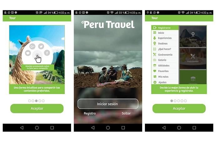 PROMPERÚ lanzó aplicación móvil gratuita dirigida a turistas