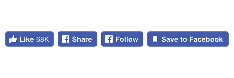 New Social Plugin Buttons