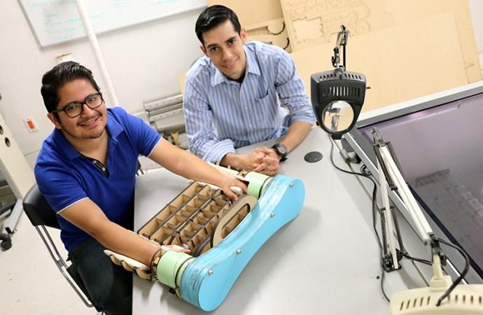 Desarrollan dispositivo para la rehabilitación de víctimas de accidentes laborales