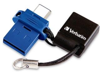 Verbatim presentó sus USB duales con USB-C