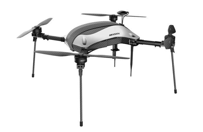 Hikvision lanzó drones autopilotados para reforzar la seguridad ciudadana