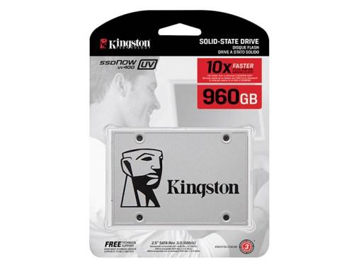 Kingston presentó la SSD UV400 de 960 GB