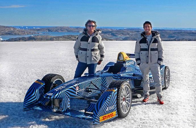 DHL y la Fórmula E llegan al Ártico