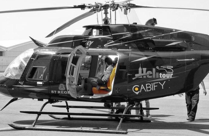 Cabify y Helitour presentaron CabiFLY Shuttle en México
