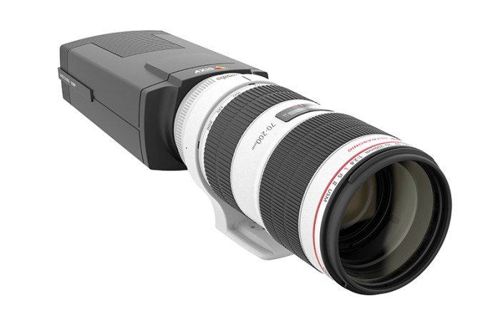 Axis lanzó la cámara de seguridad Q1659