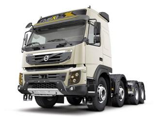 El camión autónomo Volvo FMX puesto a prueba en la mina de Boliden