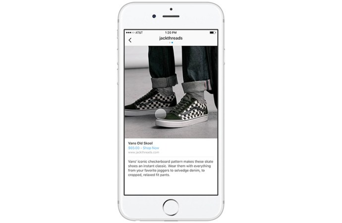 Instagram prueba función de compra