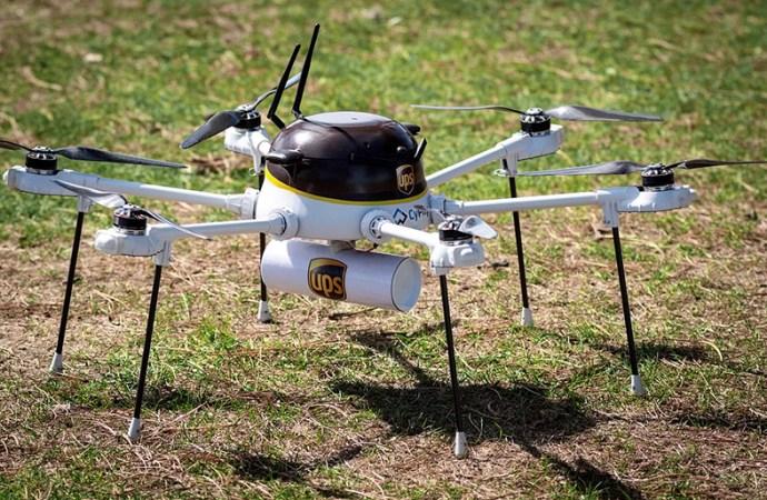 UPS y Cyphy Works ponen a prueba un dron para entregas comerciales urgentes