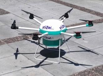 Vittal presentó su dron