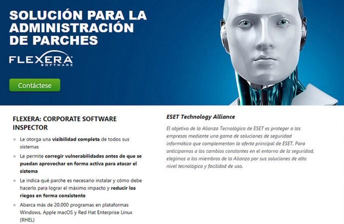 Flexera es el nuevo integrante de ESET Technology Alliance