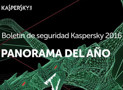 Reseña de amenazas durante 2016 por Kaspersky Lab