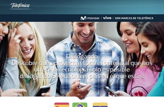Movistar lanza dialogando.com