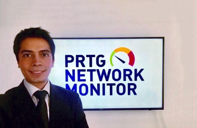 Paessler nombró a David Montoya como gerente de Canales para México y Latinoamérica