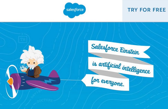 Salesforce lanzó Einstein Artificial Intelligence