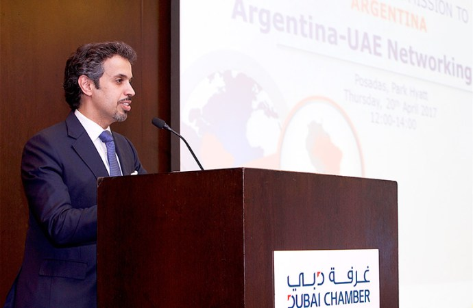 La Cámara de Comercio de Dubai fortalece vínculos comerciales con Argentina