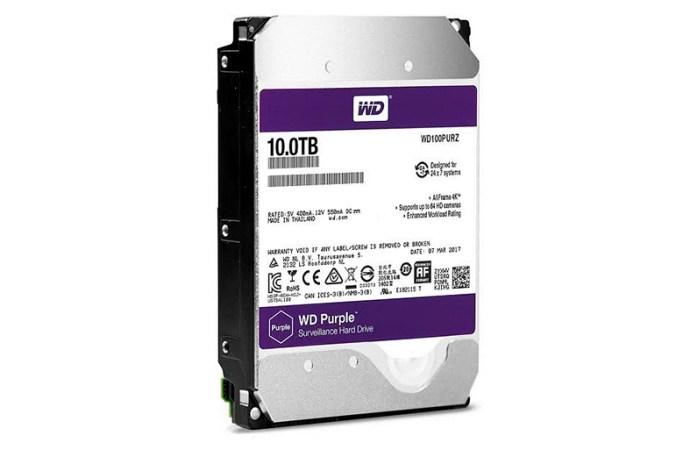 Western Digital aumenta la capacidad de sus discos duros para videovigilancia