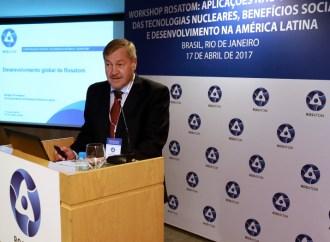 Rosatom estudia aplicaciones no energéticas de tecnologías nucleares en América Latina