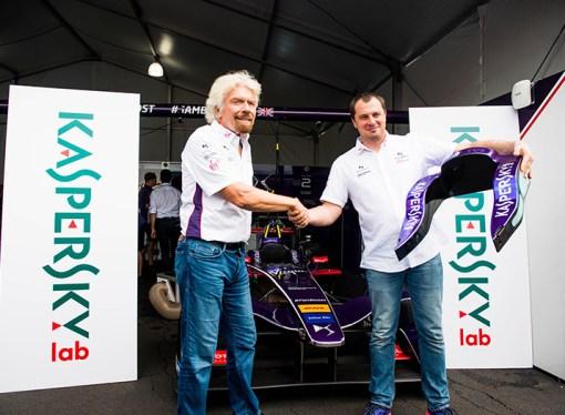 Kaspersky Lab impulsa la Fórmula E junto a DS Virgin Racing