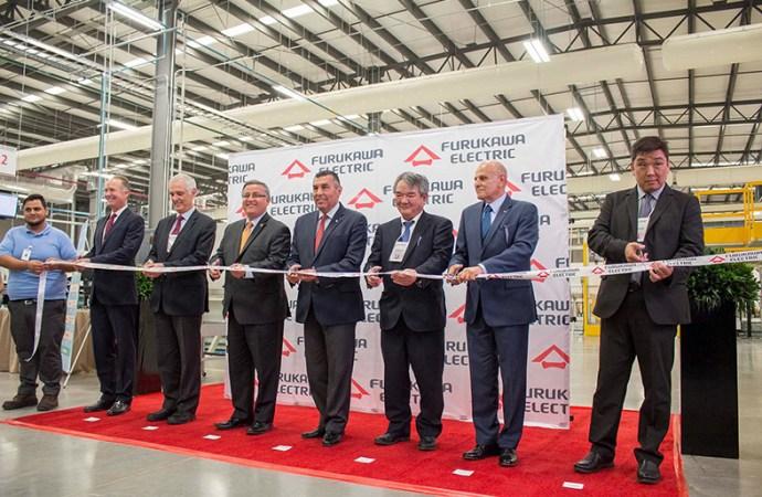 Grupo Furukawa Electric inauguró una planta industrial en México