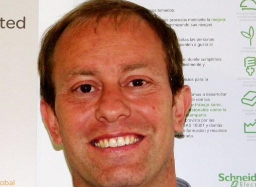 Cristian Lagos, director de la división ITD para Schneider Electric