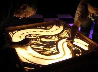 Arte con arena, lo nuevo para ejercitar la adaptación al cambio