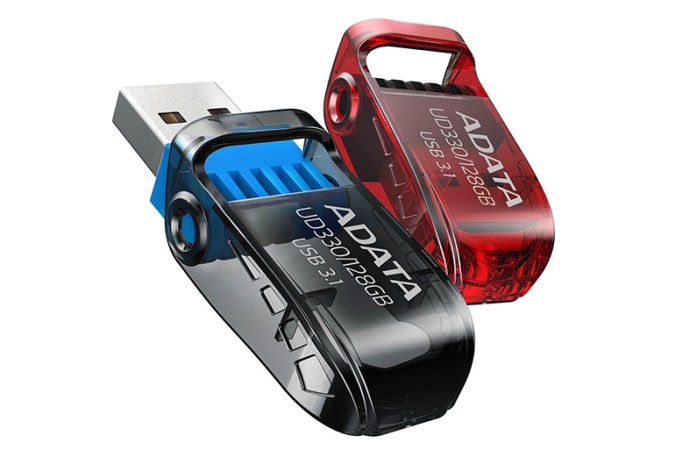 ADATA presentó las unidades Flash USB UD230 y UD330