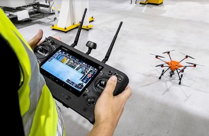 Ford incorporó drones a su equipo de trabajo