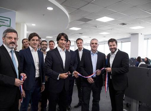 Atento inauguró un nuevo centro de relación con clientes en Santiago de Chile