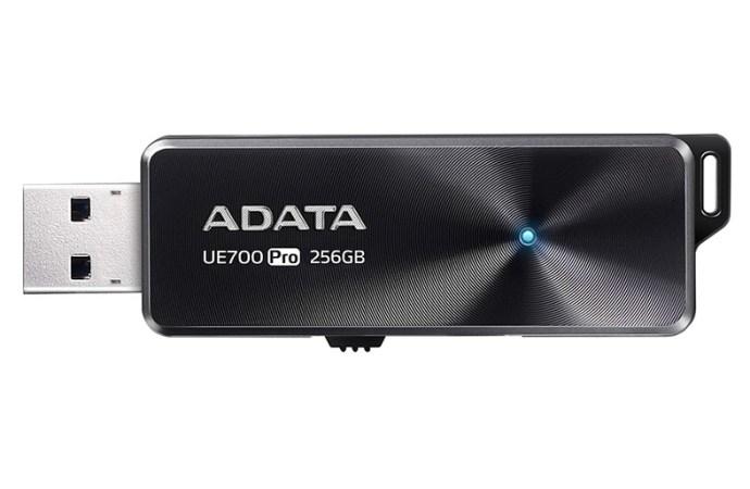 ADATA lanzó la unidad Flash USB UE700 Pro