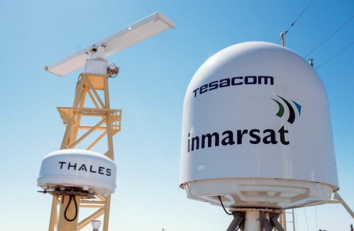 La campaña de verano del ARA Almirante Irizar estrena banda ancha ilimitada en el polo sur