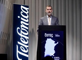 El Rey de España inauguró un encuentro de emprendedores argentinos