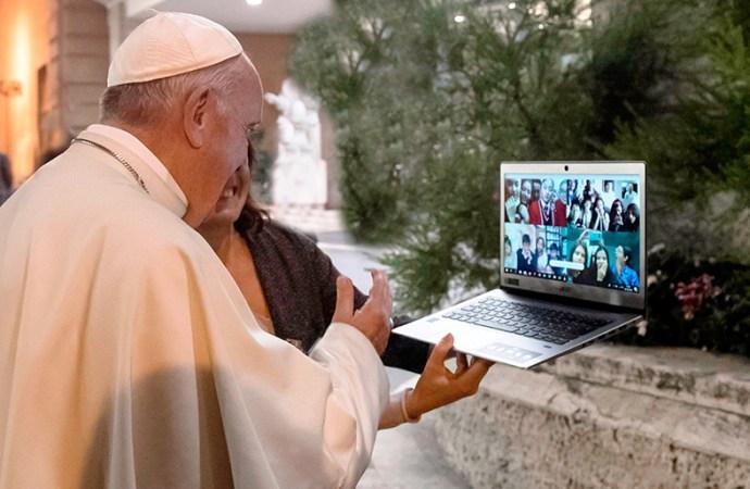 """El papa Francisco lanzó el proyecto """"Programando por la Paz"""""""