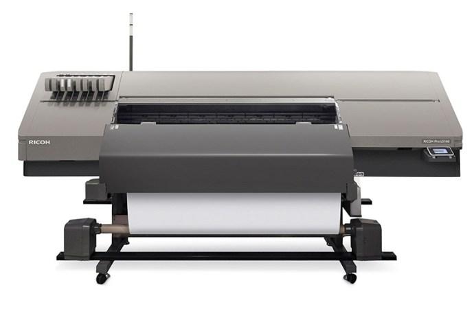 Ricoh presentó un plotter para impresiones en formato ancho