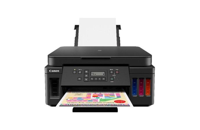 Canon presentó la impresora PIXMA G6010