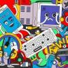 Cada año se desechan alrededor de 50.000.000 de toneladas de basura electrónica