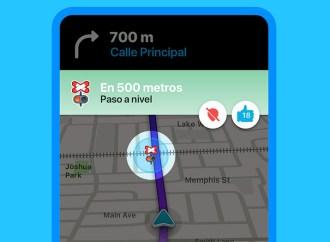 Waze lanza alertas para cruces con vías del tren y ferrocarril a nivel global