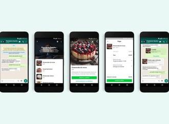 Compras, pagos y atención al cliente mediante WhatsApp