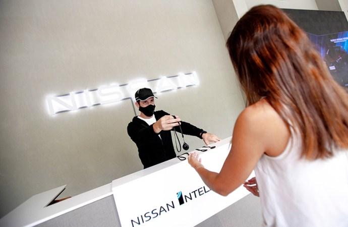Nissan incorporó un sistema de alertas para el distanciamiento social