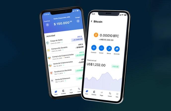 Fintech argentina permite comprar crypto acreditando pesos en tiempo real