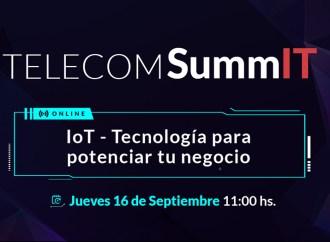 """Telecom presenta la 3º edición del """"Telecom SummIT 2021"""" sobre IoT"""