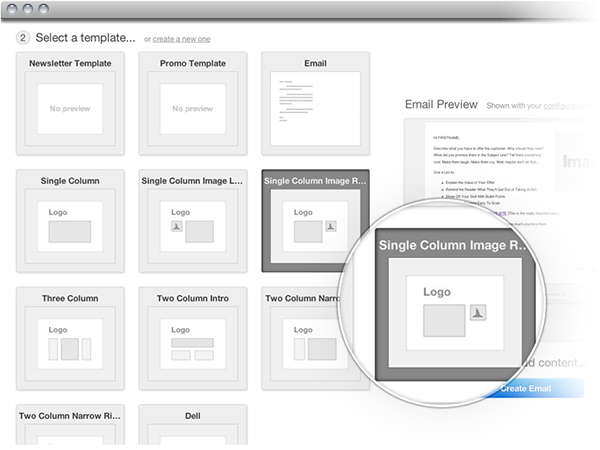HubSpot 3 email templates