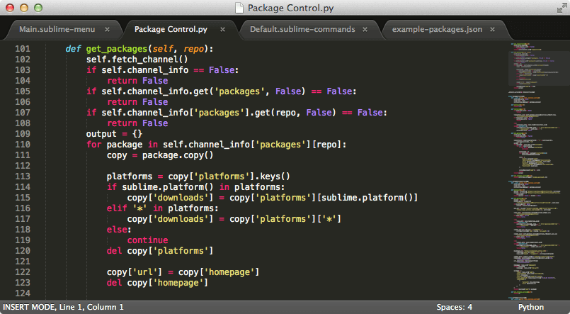 SublimeText2_Screenshot