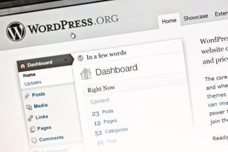 Admin panel for WordPress