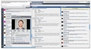Hootsuite platform interface