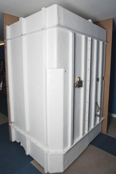 Bathroom  Shower prefabricated modular ensuite pods