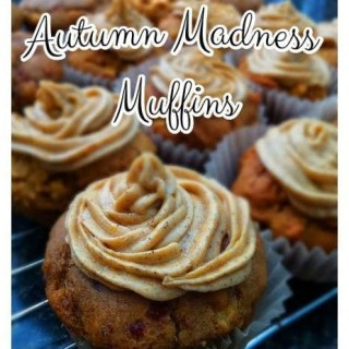 Autumn Madness Muffin – allergy friendly pumpkin muffin