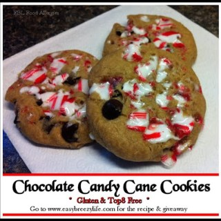 Chocolate Candy Cane Cookies – #glutenfree #top8free #allergyfree